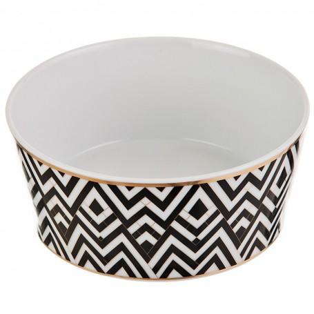 Tazón para cereales de porcelana Art-Deco Spal