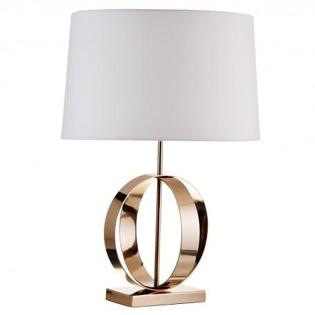 Lámpara de mesa Circular Dorado