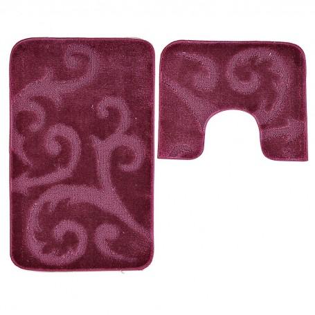 Juego de 2 alfombras para baño Arabesco Scilly Emmevi