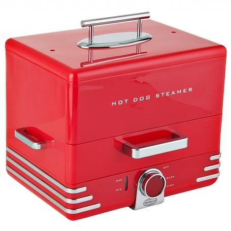 Máquina para hot dogs 2 niveles Nostalgia