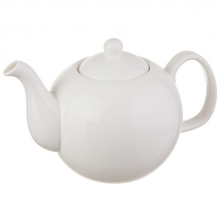 Tetera Blanca de porcelana Wilmax