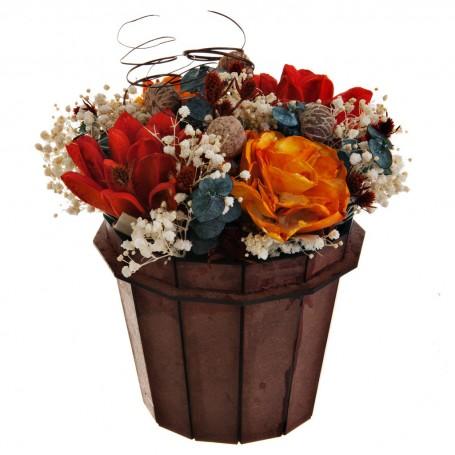 Balde decorativo Belinda Flowers