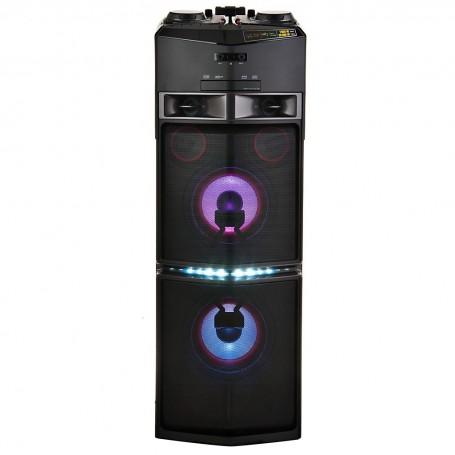 Parlante para fiesta Bluetooth, CD, Radio FM y Karaoke 1800W OJ98 LG
