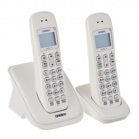 Teléfono inalámbrico con 2 auriculares DECT 6.0 Uniden