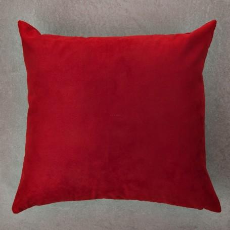 Forro para cojín de Microfibra Rojo Mihos