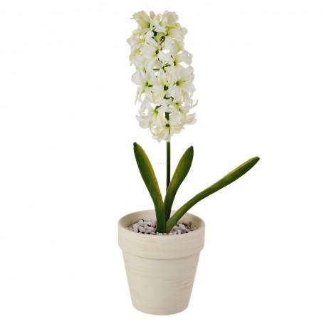 Planta con flor y maceta Haus