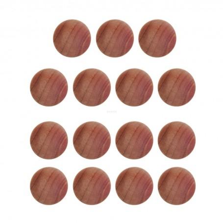 Juego de 15 bolas aromatizantes de cedro para closet Novo
