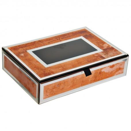 Caja Cobre Espejo Haus