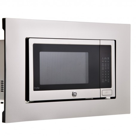 Microondas empotrable con Grill y Luz LED 1.6' 80cm PEB160SFSS GE