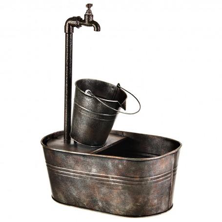 Fuente de agua eléctrica Grifo y Balde