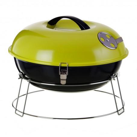 BBQ a carbón con tapa para mesa