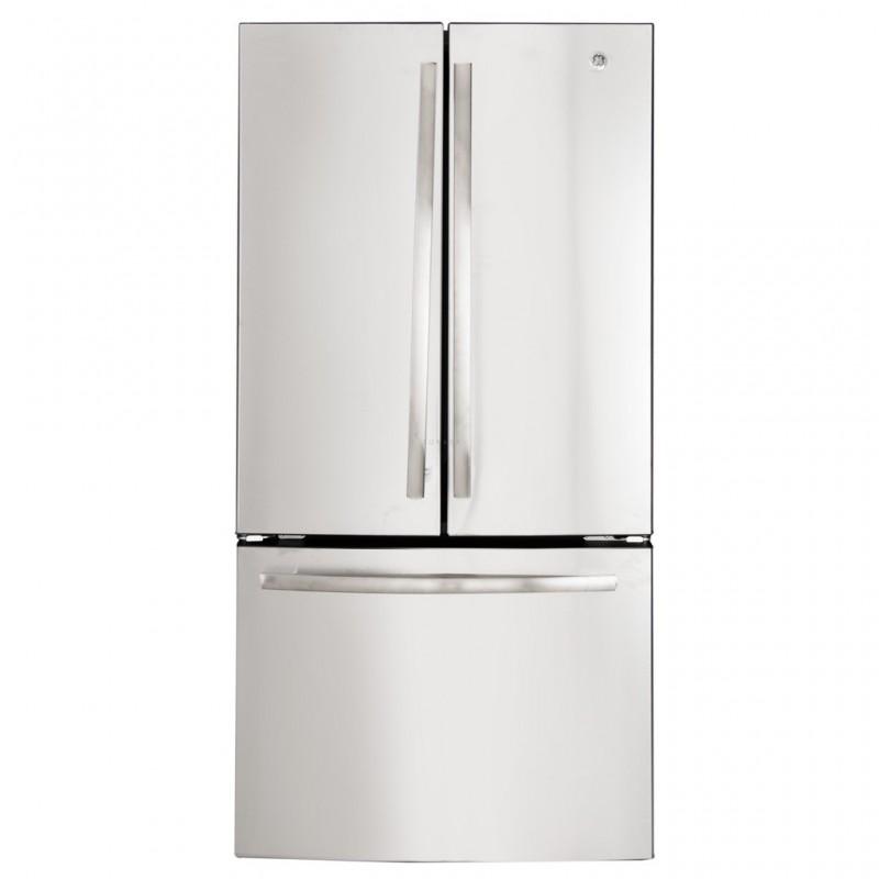 Refrigerador French Door con luz LED Acero inoxidable 25' PNM25FSKCSS GE