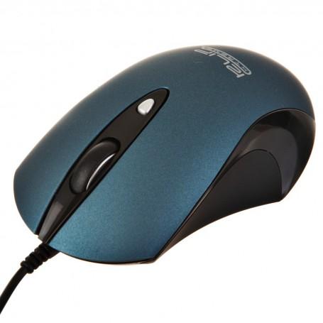 Mouse óptico silencioso con cable KMO-250BL Klip Xtreme