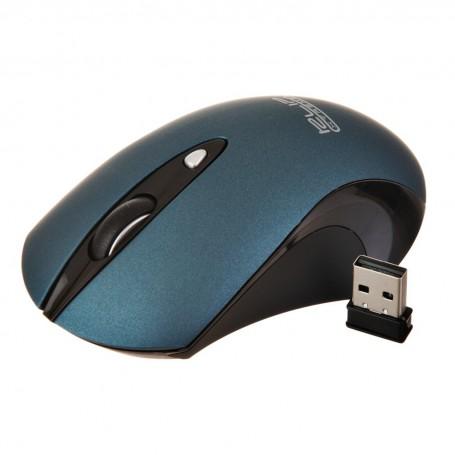 Mouse óptico silencioso inalámbrico KMW-400BL Klip Xtreme