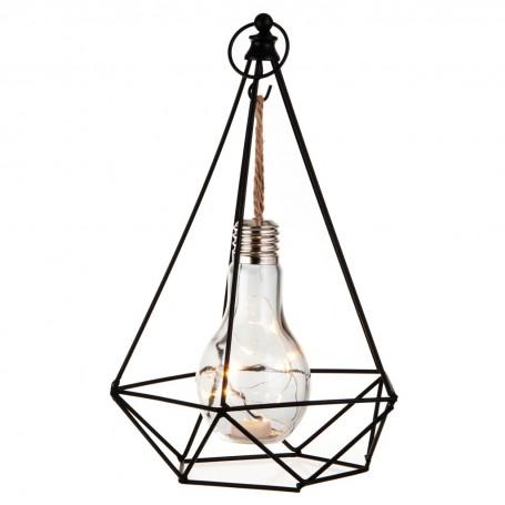 Lámpara con focos LED Pirámide Haus