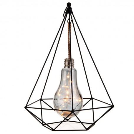 Lámpara grande con focos LED Pirámide Haus