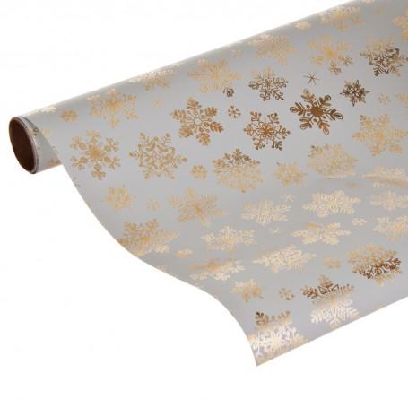 Papel regalo Navidad Snow Crystals