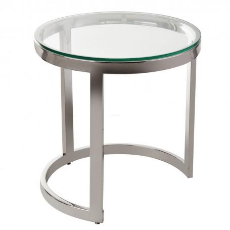 Mesa Lateral Grande Silver / Clear