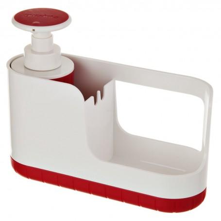 Dispensador para jabón con porta esponja Kitchen Fratelli Guzzini
