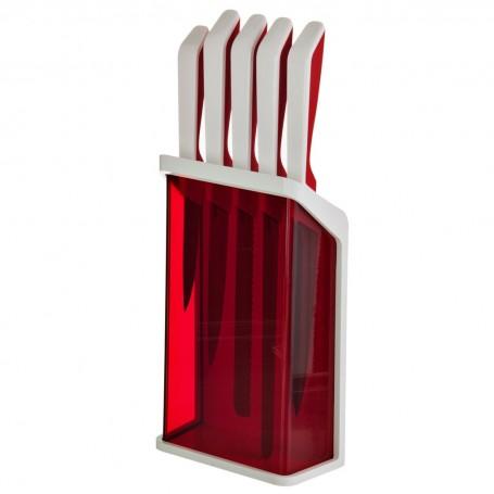 Juego cuchillos con bloque Kitchen Fratelli Guzzini