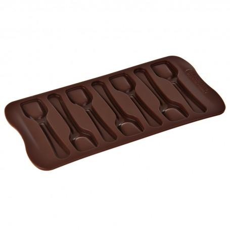 Molde de silicona para chocolate Cucharas Silikomart