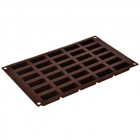 Molde de silicona para chocolate Cilindros Silikomart
