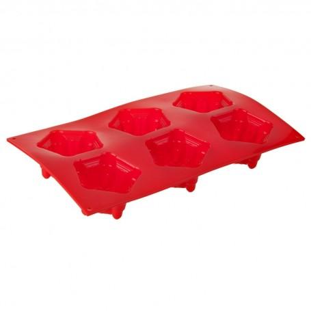 Molde de silicona para cupcakes Castillo