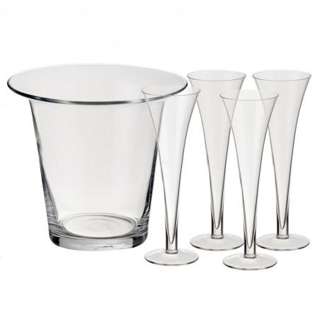 Champagnera con copas Bar LSA International
