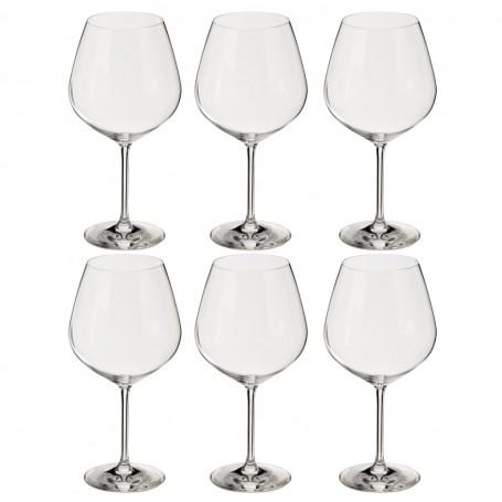 Juego de 6 copas para vino Borgoña Viña Schott Zwiesel