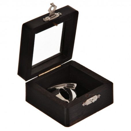 Llavero Velero Silver con caja de madera