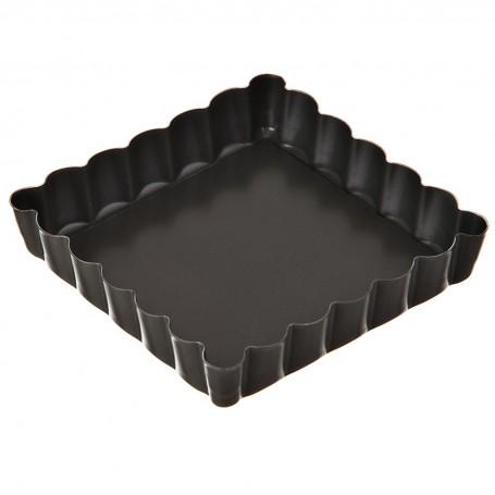 Mini molde cuadrado desmontable para tartaleta Patisse