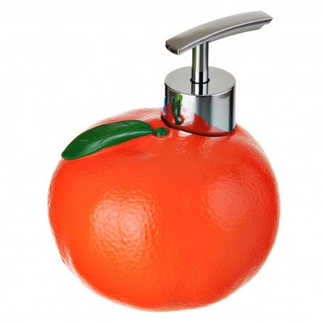Dispensador para jabón de cocina Naranja Wenko