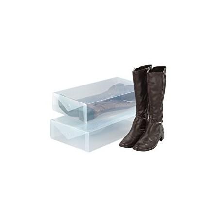 Juego de 2 cajas organizadoras para botas Wenko