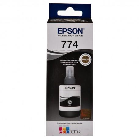 Tinta negra en botella para impresoras Epson