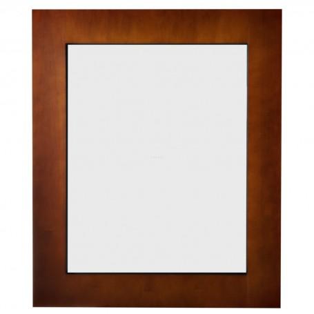 Espejo con marco de madera Haus