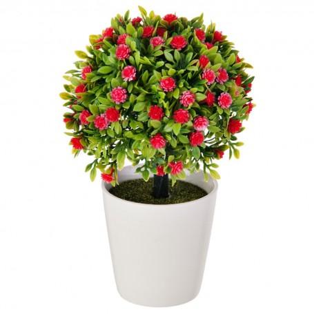 Planta extra pequeña con maceta blanca Haus