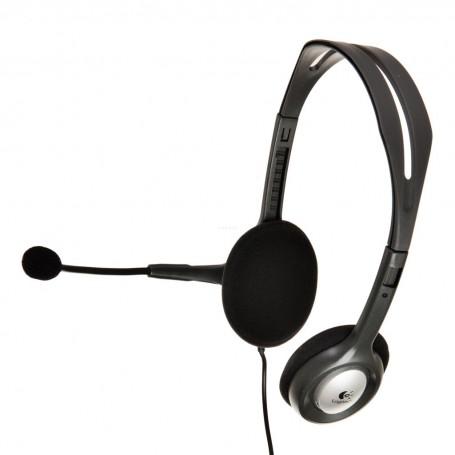 Audífonos Stereo + Micrófono H110 Logitech
