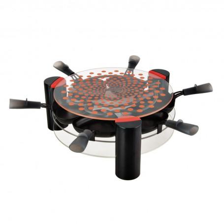Raclette / Grill de vidrio 2 niveles 900W Lagrange
