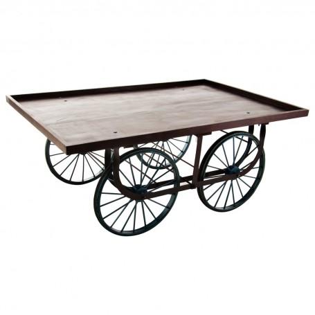 Mesa con ruedas Haus