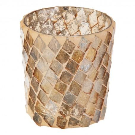 Porta vela Mosaico Cilíndrico Haus