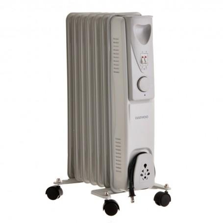 Calefactor de aceite 7 pintas y 3 niveles de temperatura 1500 W DOH-277M Daewoo