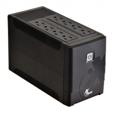 UPS 500VA / 250W con 8 tomas XTP-511 XTech