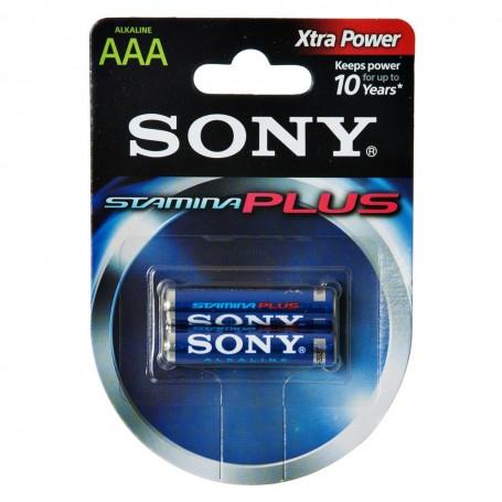Juego de 2 pilas AAA 1.5V Sony