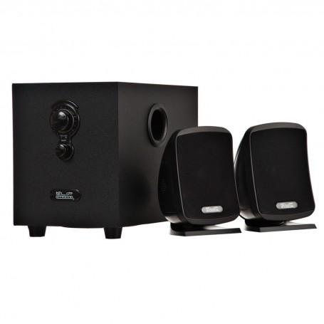 Parlantes estéreo multimedia 2.1 para PC 10W KSS-710 Klip Xtreme