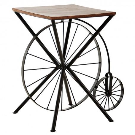 Mesa lateral con ruedas Haus