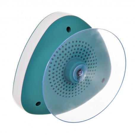 Parlante para ducha con Bluetooth resistente al agua con ventosa Ginsey