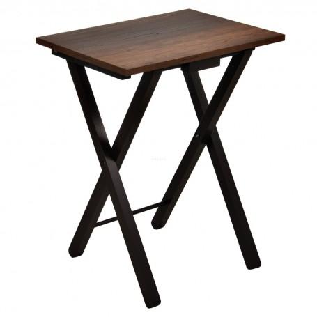 Mesa auxiliar plegable Caramelo