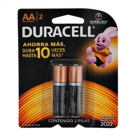 Juego de 2 pilas AA 1.5V Duracell