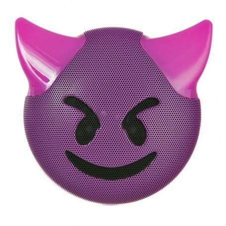 Parlante portátil Bluetooth Emoji Diablo