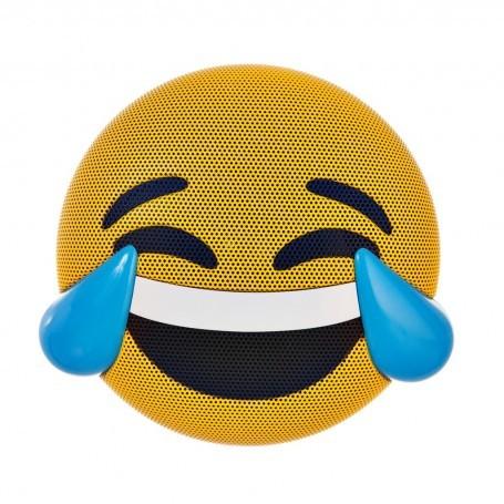 Parlante portátil Bluetooth Emoji Risa Amarillo